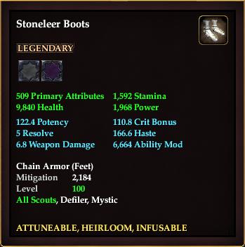 Stoneleer Boots
