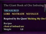 The Giant Book of Ore Imbueing