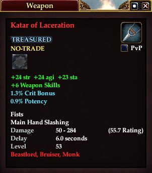 Katar of Laceration (Version 1)