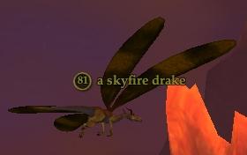 A skyfire drake