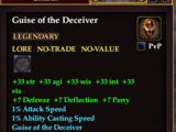 Guise of the Deceiver (HQ Reward)