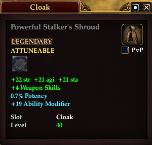 Powerful Stalker's Shroud