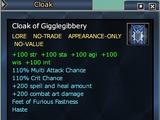 Cloak of Gigglegibbery