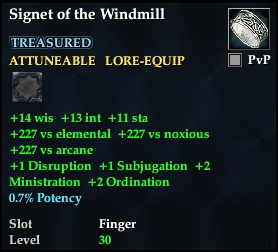 Signet of the Windmill