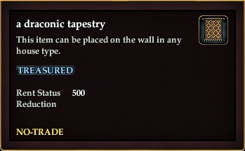 A draconic tapestry
