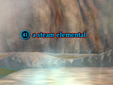 A steam elemental