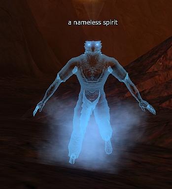 A nameless spirit