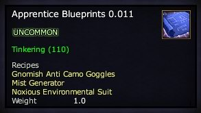 Apprentice Blueprints 0.011