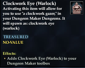 Clockwork Eye (Warlock)