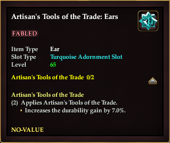 Artisan's Tools of the Trade: Ears