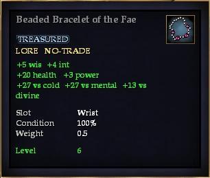 Beaded Bracelet of the Fae