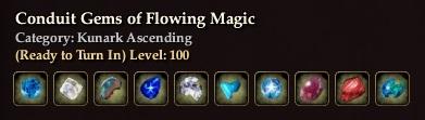 Conduit Gems of Flowing Magic