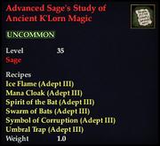 Advanced Sage's Study of Ancient K'Lorn Magic.png