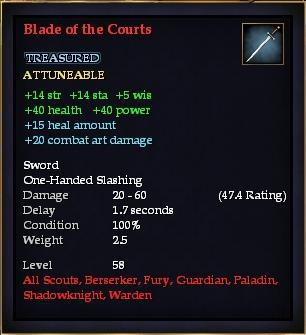 Blade of the Courts