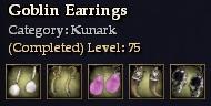 Goblin Earrings