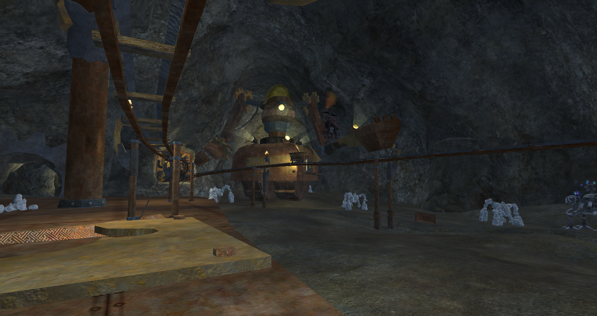 The Ore Extraction Site