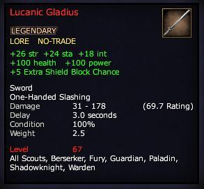 Lucanic Gladius (Version 1)