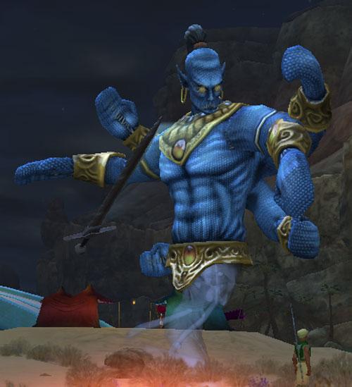 The Djinn Master (Heroes' Festival)