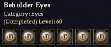Beholder Eyes