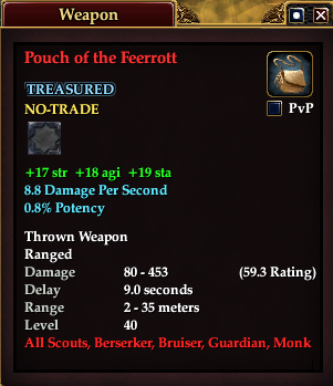 Pouch of the Feerrott