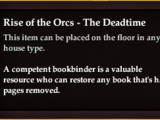Rise of the Orcs - The Deadtime (CollectionReward)