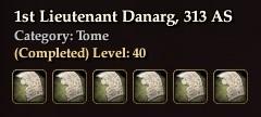 1st Lieutenant Danarg, 313 AS (Collection)