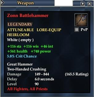 Zonn Battlehammer