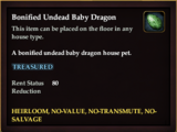Bonified Undead Baby Dragon