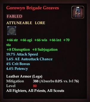 Gorowyn Brigade Greaves (Version 1)