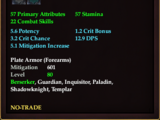 Legionnaire's Bracers of Defending
