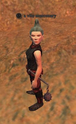A vile mercenary