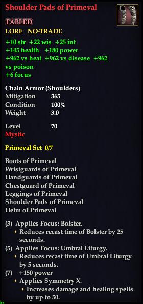 Shoulder Pads of Primeval (Version 1)