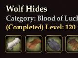 Wolf Hides