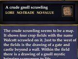 A crude gnoll map