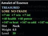 Amulet of Essence