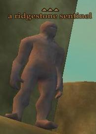 A ridgestone sentinel
