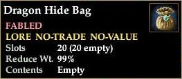 Dragon Hide Bag