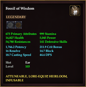 Fossil of Wisdom