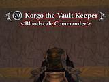 Korgo the Vault Keeper