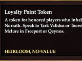 Loyalty Point Token