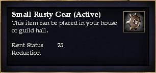 Small Rusty Gear (Active)