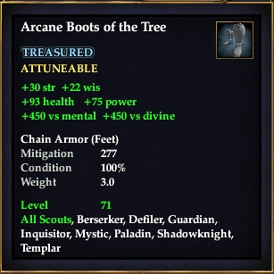 Arcane Boots of the Tree