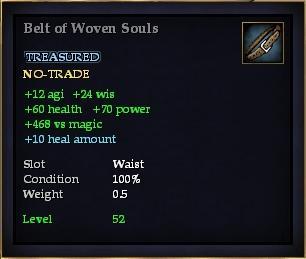 Belt of Woven Souls