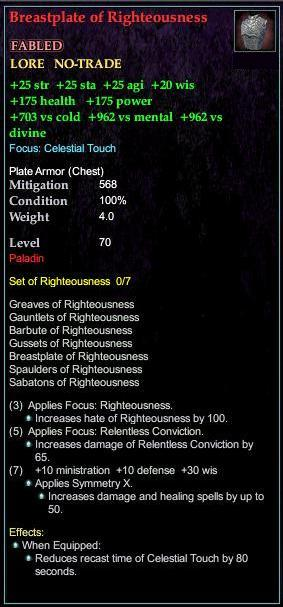 Breastplate of Righteousness (Version 1)