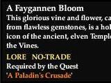 A Faygannen Bloom