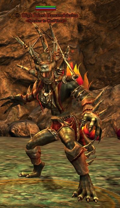 High Priest Hamanu'akaloa (Heroic)