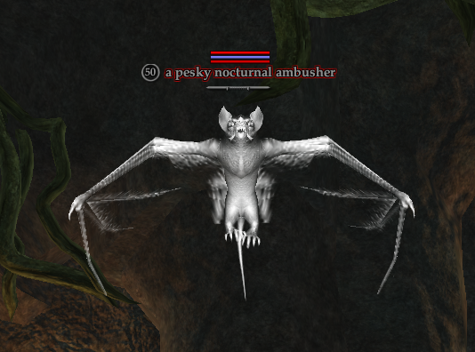 A pesky nocturnal ambusher
