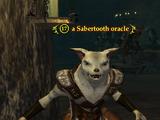 A Sabertooth oracle (Blackburrow)