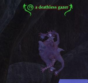A deathless gazer