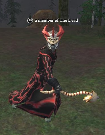 A member of The Dead